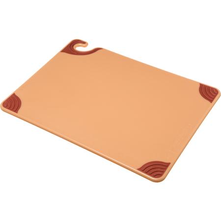 """CBG152012BR - Saf-T-Grip Cutting Board 15"""" x 20"""" x 0.5"""" - Brown"""