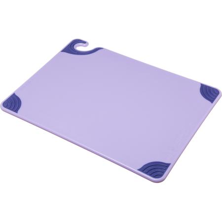 "CBG152012PR - Saf-T-Grip Cutting Board 15"" x 20"" x 0.5"" - Purple"