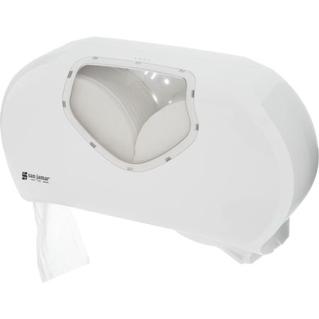 R4070WHCL - TWIN 9IN JBT 3.25 CORE -  WHITE CLEAR