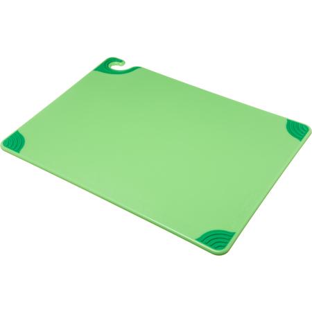 """CBG182412GN - Saf-T-Grip Cutting Board 18"""" x 24"""" x 0.5"""" - Green"""