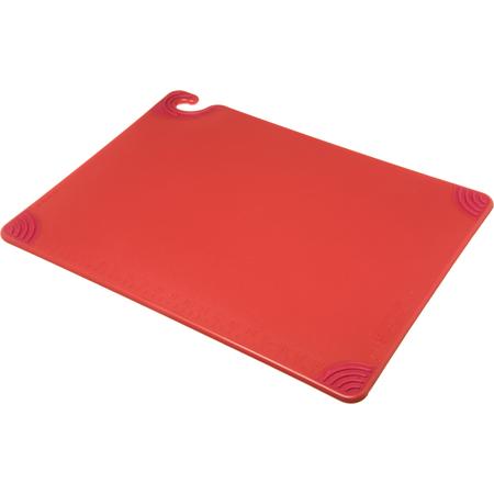 """CBG182412RD - Saf-T-Grip Cutting Board 18"""" x 24"""" x 0.5"""" - Red"""