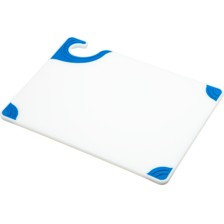 "CBGW912BL - Saf-T-Grip Cutting Board 9"" x 12"" x 0.375"" - Blue"