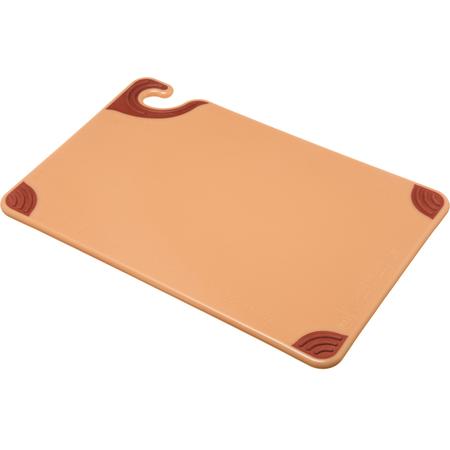 """CBG121812BR - Saf-T-Grip Cutting Board 12"""" x 18"""" x 0.5"""" - Brown"""