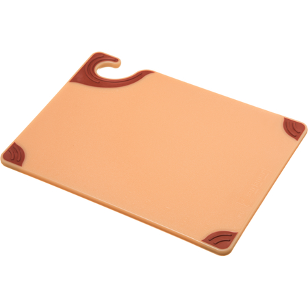 "CBG912BR - Saf-T-Grip Cutting Board 9"" x 12"" x 0.375"" - Brown"