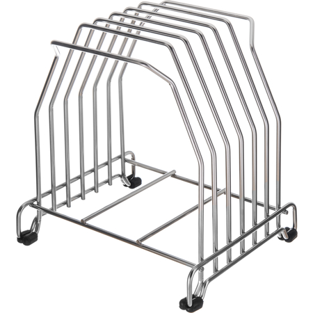 KLRST - Cut-N-Carry Cutting Board Rack - Chrome