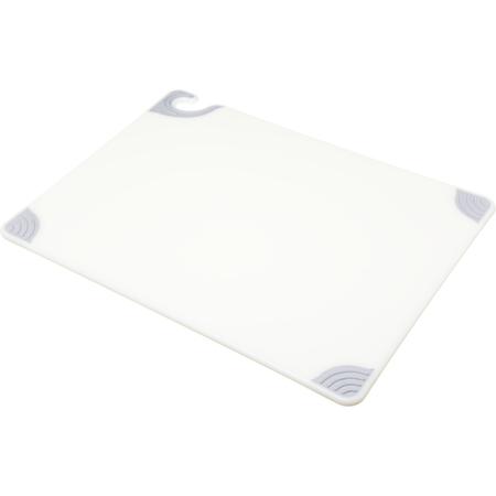 "CBG182412WH - Saf-T-Grip Cutting Board 18"" x 24"" x 0.5"" - White"