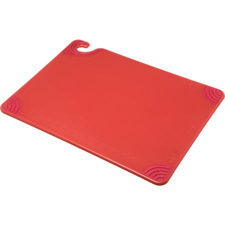 """CBG152012RD - Saf-T-Grip Cutting Board 15"""" x 20"""" x 0.5"""" - Red"""