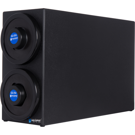 C2902BK - DIMENSION-EZ FIT BOX-(2)DISP-BLACK
