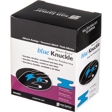 MK0903 - MANI-KARE BNDG, 1 3/4 X 3 - KNUCKLE