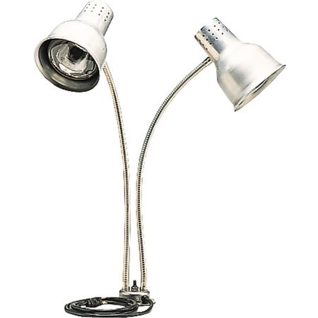 "HL828500 - FlexiGlow™ Dual Arm Heat Lamp 24"" - Aluminum"