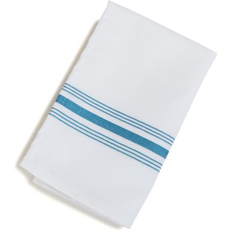 "53771822NH630 - SoftWeave™ Bistro Striped Napkin 18"" x 22"" - Belize Blue"