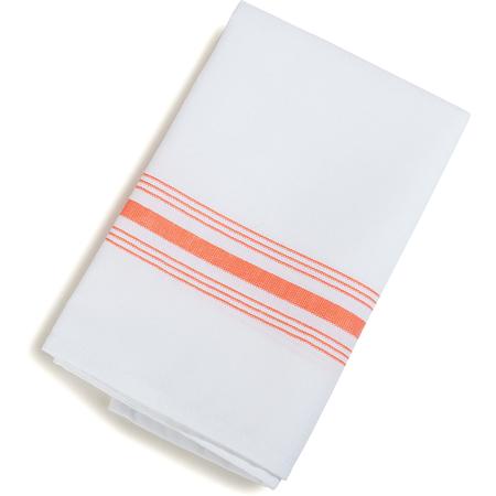 """5SW377414 - Swatch - Bistro Striped Napkin 18"""" x 22"""" - Orange"""