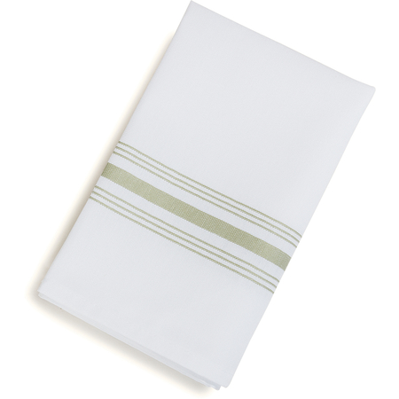 "53771822NH147 - SoftWeave™ Bistro Striped Napkin 18"" x 22"" - Sage"