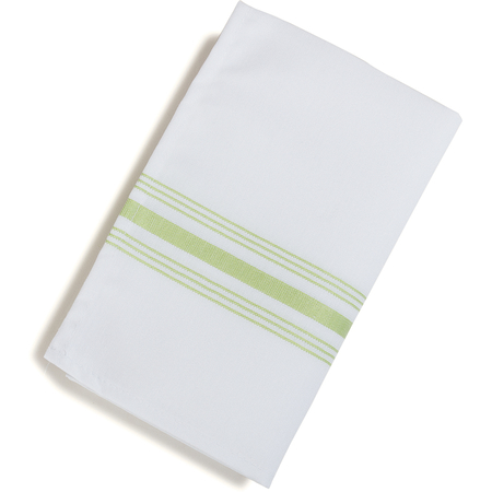 "53771822NH076 - SoftWeave™ Bistro Striped Napkin 18"" x 22"" - Lime Green"