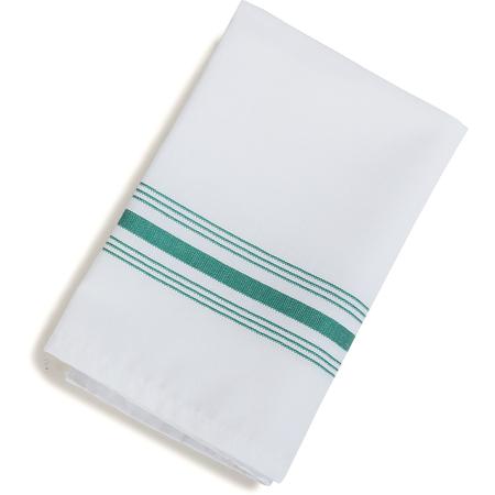 "53771822NH064 - Bistro Striped Napkin 18"" x 22"" - Kelly Green"