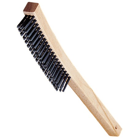 "4577000 - 13.75"" Brush with 3 x 19 Rows of Carbon Steel Bristles"