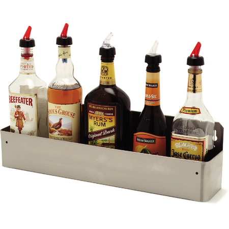 "38322BH - Speed-Rak™ holds (5) 1-liter bottles 22"", 4-1/8"", 6"" - Stainless Steel"