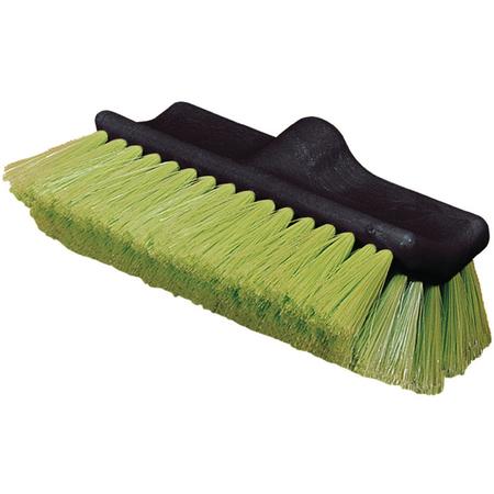 "36129775 - Flo-Thru Dual Surface Wash Brush with Nylex Bristles 10"" - Green"