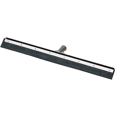 """361201800 - Straight Blade Black Rubber With Metal Frame 18"""" - Black"""