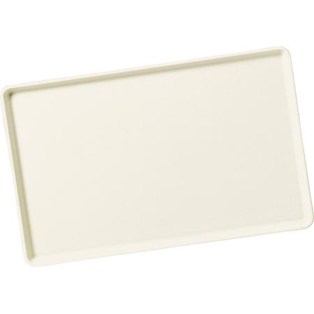 "1520LFG002 - Glasteel™ Solid Low Edge Tray 20.25"" x 15"" - Smoke Gray"