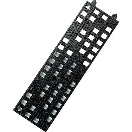 """VM5180BK - VERSA-MAT STRIP, 3.5""""X12"""" BLACK"""