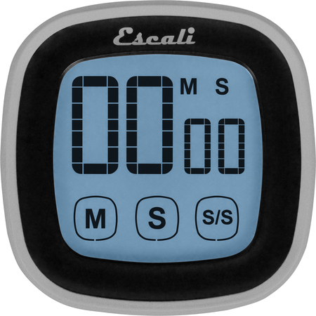 TMDGTS - TOUCH SCREEN DIGITAL TIMER, BLACK