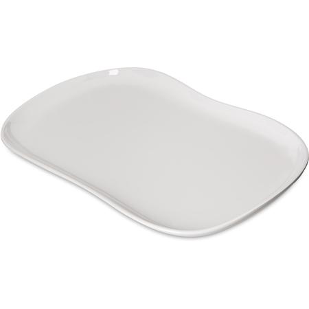 """5300980 - Stadia Melamine Platter 13"""" x 7"""" - Greige"""