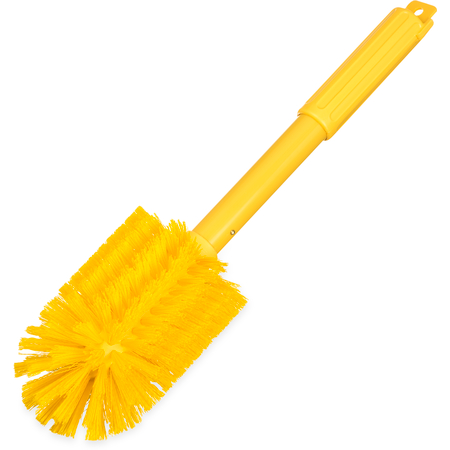"40005C04 - Sparta® Multi-Purpose Valve & Fitting Brush 16"" Long /4"" D - Yellow"