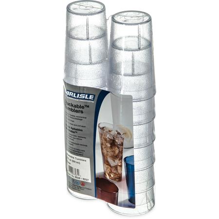 5506-8207 - Stackable™ SAN Tumbler 9.5 oz (12/pk) - Clear