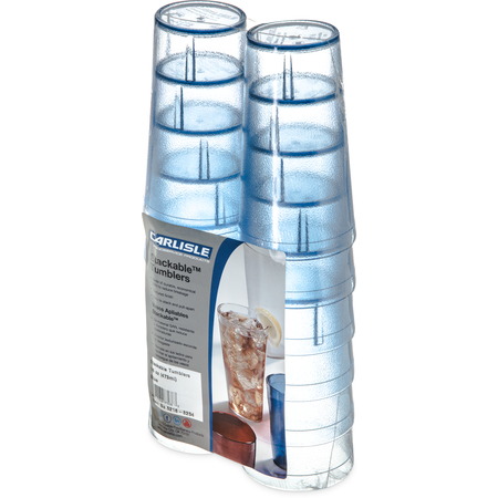 5216-8254 - Stackable™ Cash 'n Carry SAN Tumbler 16 oz (12/pk) - Blue
