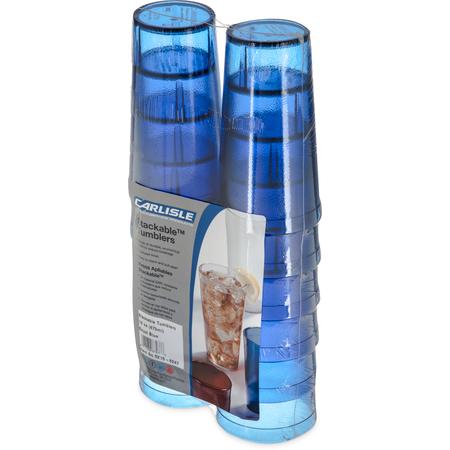 5216-8247 - Stackable™ Cash 'n Carry SAN Tumbler 16 oz (12/pk) - Royal Blue