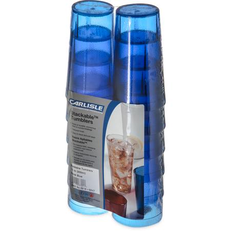 5212-8247 - Stackable™ SAN Tumbler 12 oz (12/pk) - Royal Blue