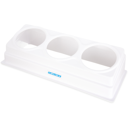 "CM106902 - Coldmaster® 3-Crock Coldrock Organizer (only) 26-1/2"", 10-1/2"", 6-3/4"" - White"