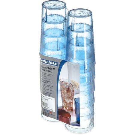 5212-8254 - Stackable™ SAN Tumbler 12 oz (12/pk) - Blue