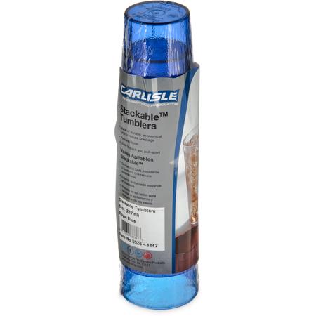 5526-8147 - Stackable™ SAN Tumbler 8 oz - Cash & Carry (6/pk) - Royal Blue