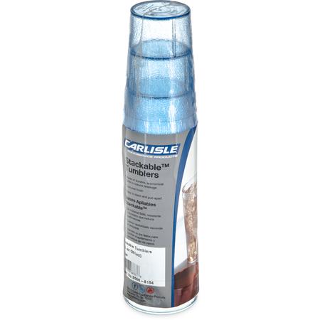 5506-8154 - Stackable™ SAN Tumbler 9.5 oz - Cash & Carry (6/pk) - Blue