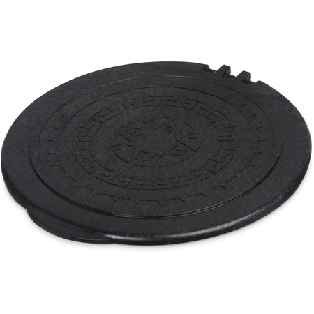 "070303 - Replacement Lid 8"" - Black"