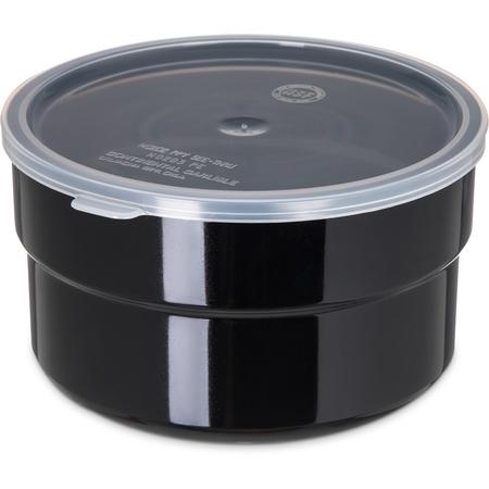 036503 - Supreme™ Crock w/Lid 1.5 qt - Black