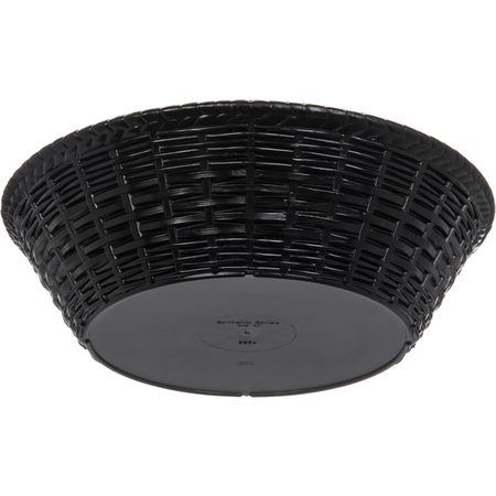 "652403 - WeaveWear™ Round Basket 9"" - Black"