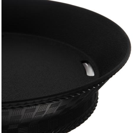 "652803 - WeaveWear™ Round Basket 9"" - Black"