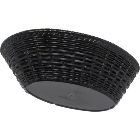"""650403 - WeaveWear™ Oval Basket 9"""" x 6"""" - Black"""