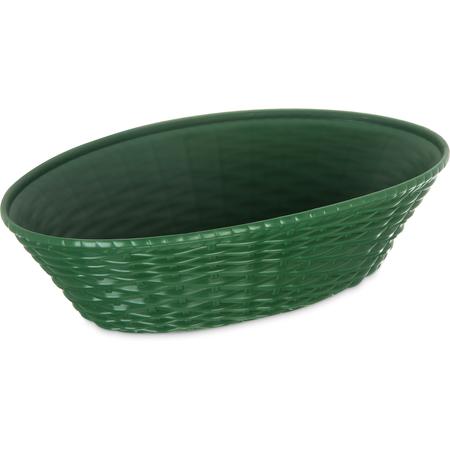"""650409 - WeaveWear™ Oval Basket 9"""" x 6"""" - Green"""
