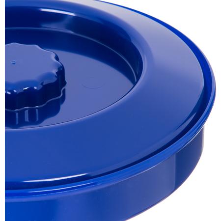 "047060 - Tortilla Server w/Lid 7-1/4"" / 1-15/16"" - Cobalt Blue"