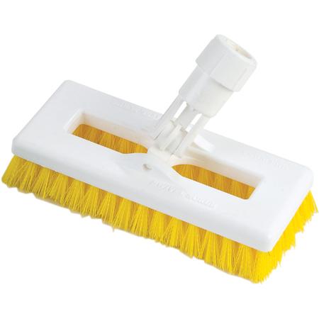 "363883104 - Swivel Scrub® w/Polyester Bristles 8"" - Yellow"