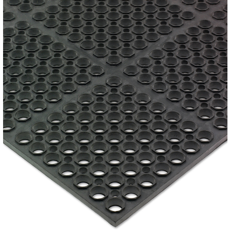 KM2100 - ANTI-FATIGUE MAT 3FTX5FTX3/4 - BLK