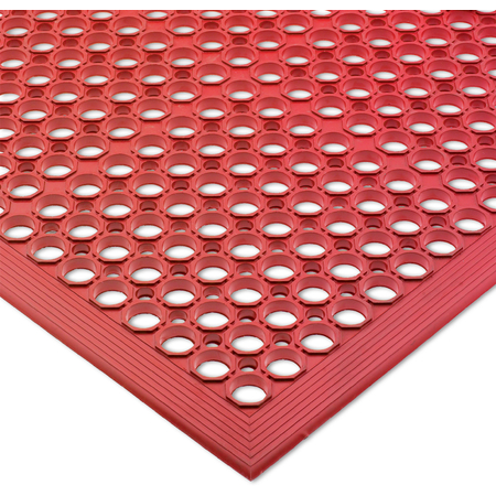 KM1200B - ANTI-FATG MAT 3FTX5FTX1/2-RED BAGD