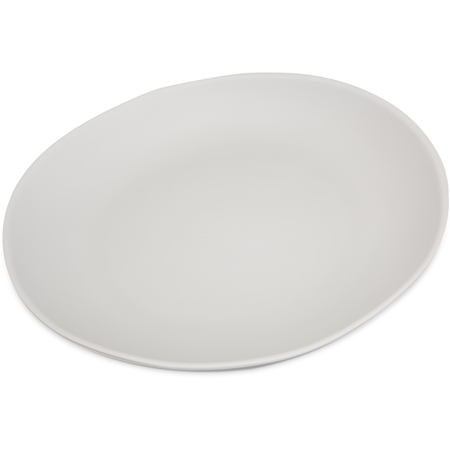 """5310723 - Ridge Melamine Dinner Plate 10.5"""" - Cement"""
