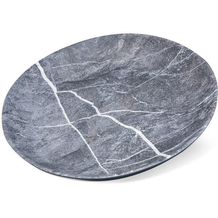 """5310772 - Ridge Melamine Dinner Plate 10.5"""" - Soapstone"""
