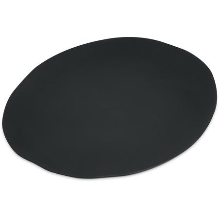 "5310538 - Ridge Melamine Rimless Plate 11"" - Slate"