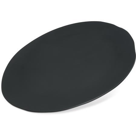 "5310438 - Ridge Melamine Rimless Plate 9"" - Slate"